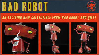 J.J. Abrams' Bad Robot Productions Mascot Maquette by Quantum Mechanix