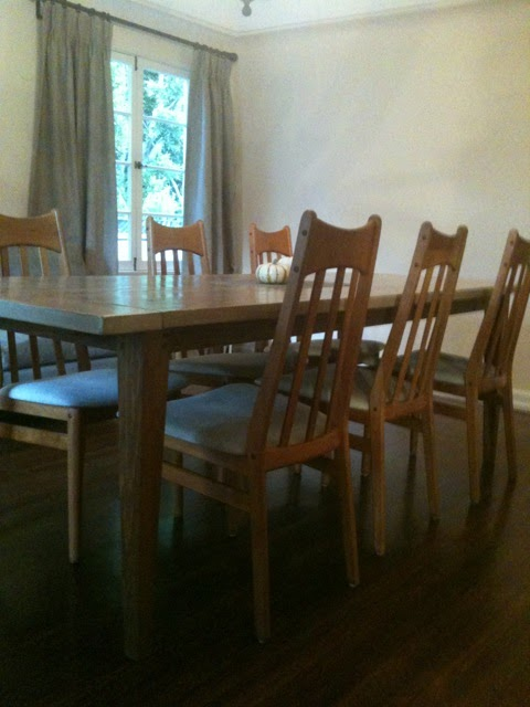 0166f76e161e3 What a perfect match  The simple style of the table pairs nicely with the  clean lines of the chairs. The rugged quality of this farm house style is  softened ...