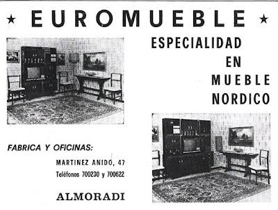 Almorad 1829 la industria del mueble 1 parte for Muebles almoradi