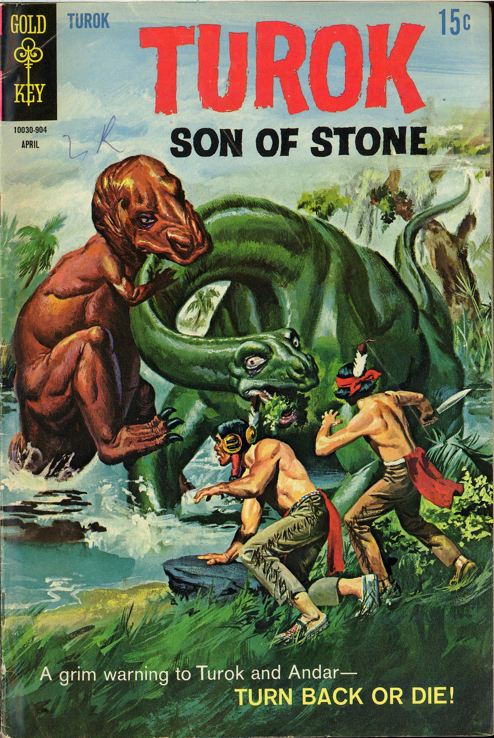 Read online Turok, Son of Stone comic -  Issue #65 - 1