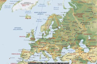 Immagini Cartina Geografica Europa.Geografia Carta Geografica Europa Cartina Europa Cartine Geografiche