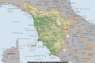 Cartina Geografica Emilia Romagna E Toscana.Geografia Carta Geografica Italia Cartine Geografiche Regioni Toscana