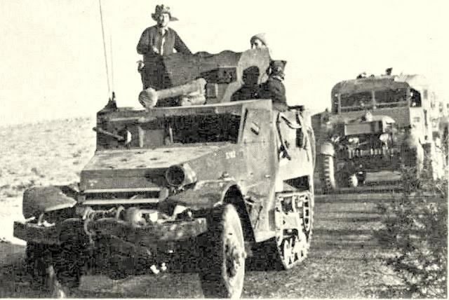 M2 M3 Half Tracks in the IDF service זחל