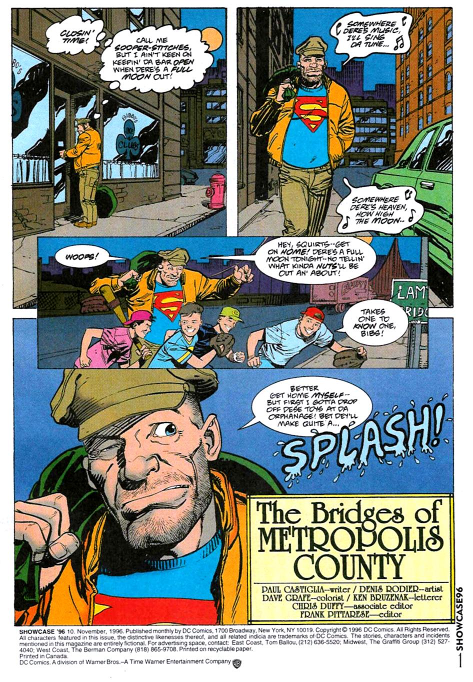 Read online Showcase '96 comic -  Issue #10 - 2