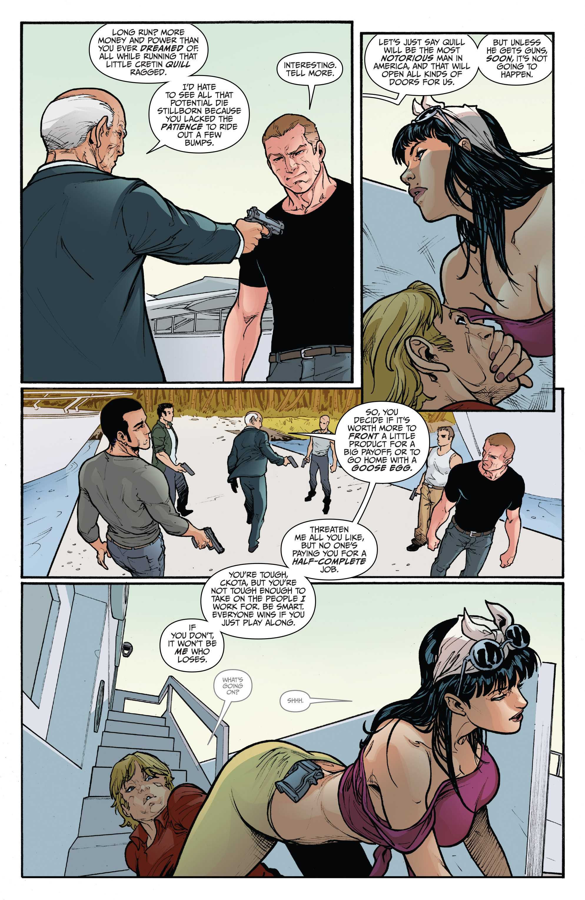 Read online 3 Guns comic -  Issue #5 - 7
