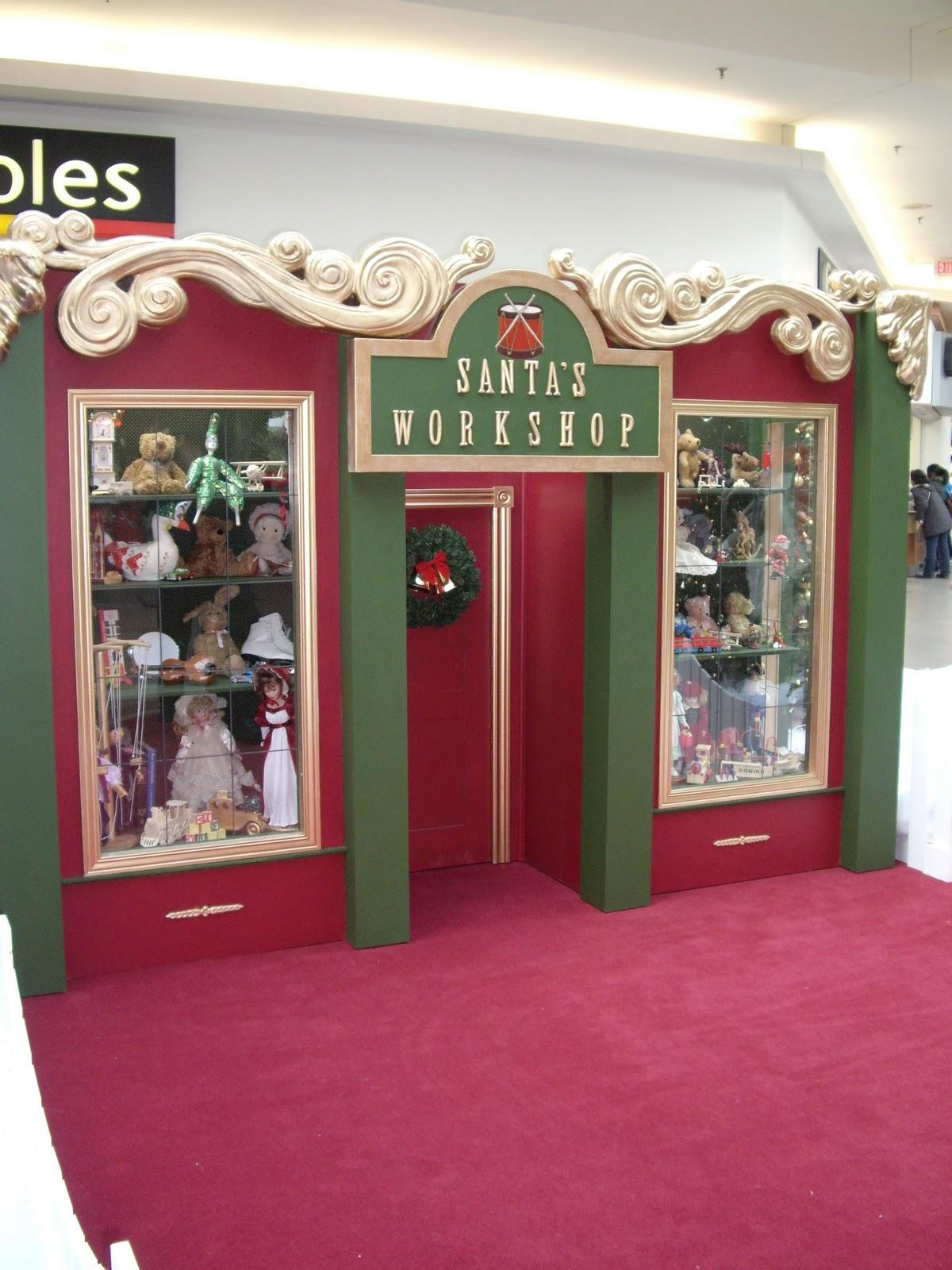Christmas Mall Santa
