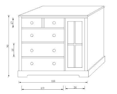 Bebe muebles detalles comoda mudador con closet - Comodas a medida ...