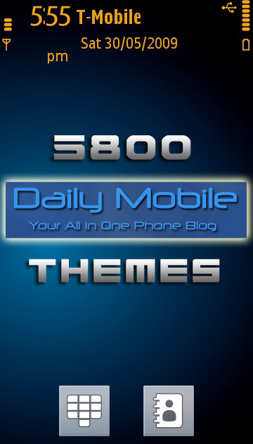 Nokia 5800 Best Tips & Tricks: 5800 Themes & Wallpapers