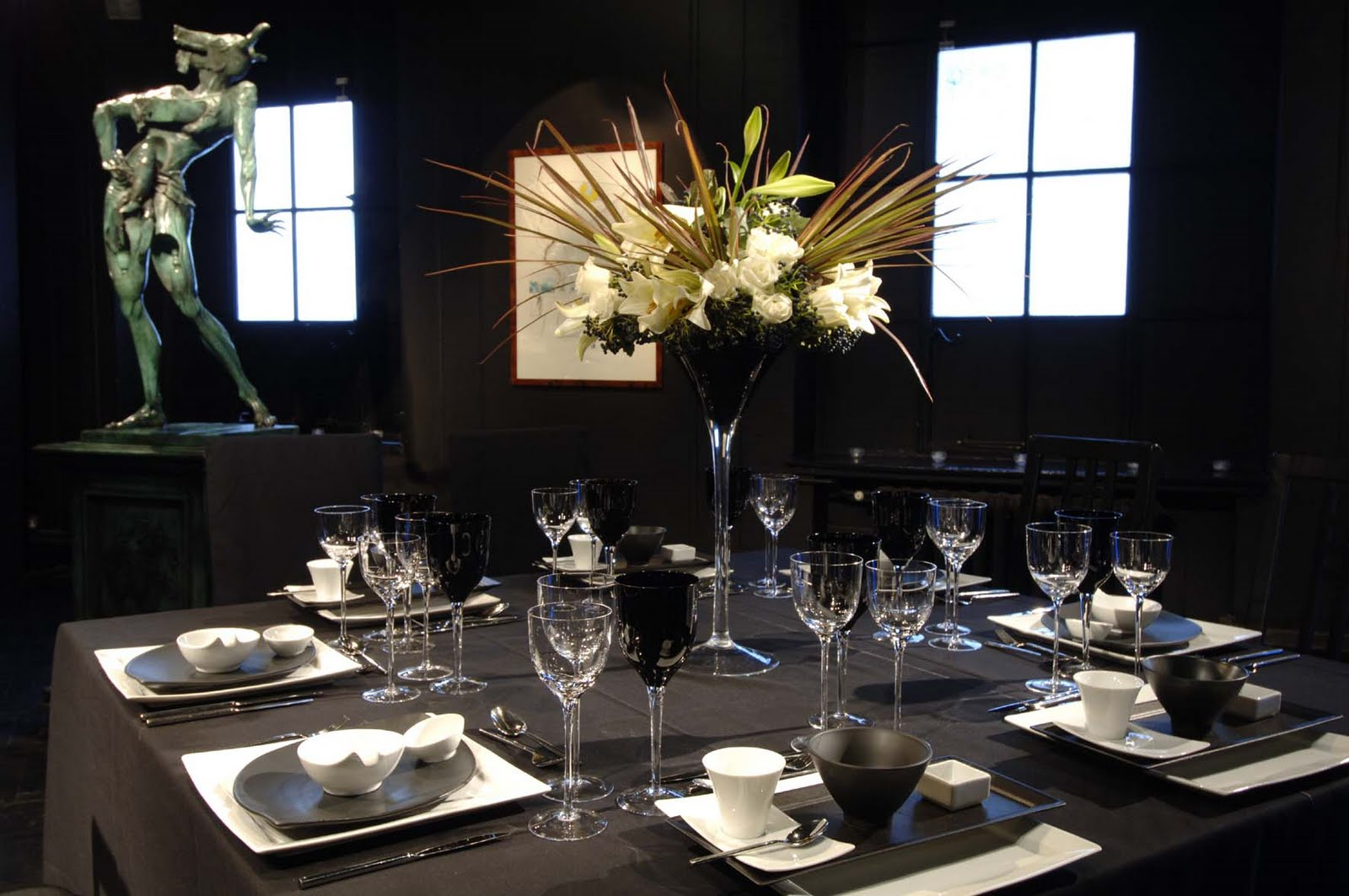 Clare Beckwith Weddings Events Parties: Stylish table settings