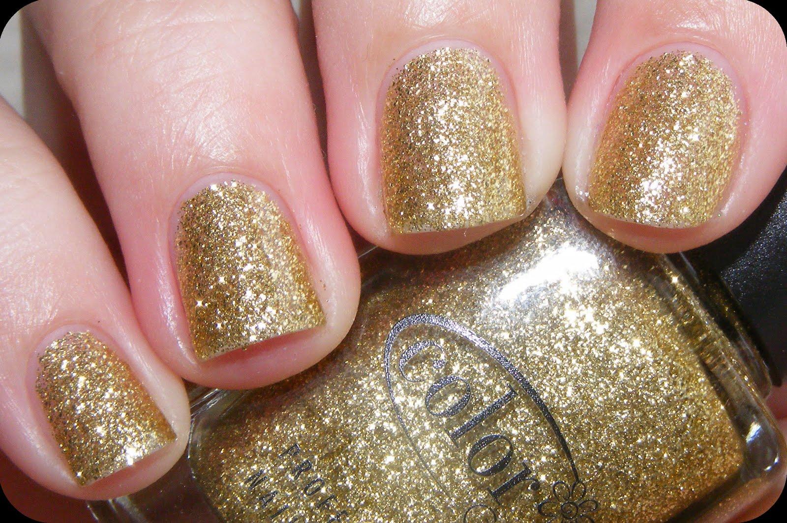 Color Club Sultry Diva Gold Bronze Glitter 15ml Nail
