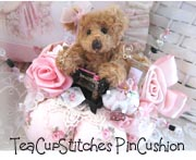 Sewing Teddy PinCushion