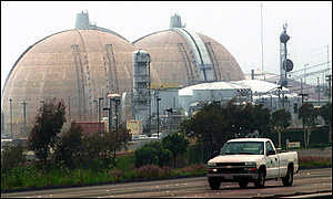 Nuclear reactors.  San Onofre, CA