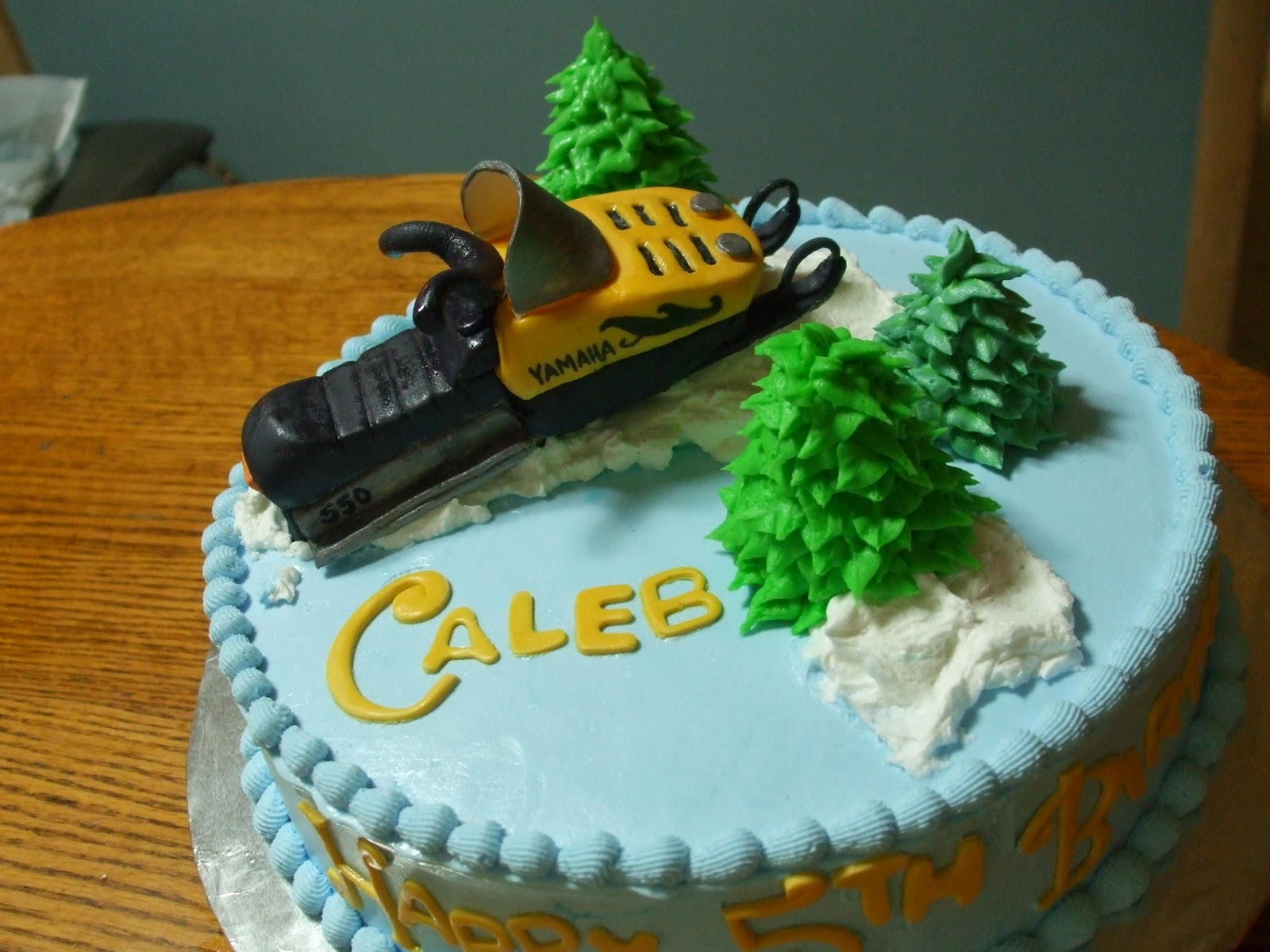 Cakes By Paula Snowmobile Cake