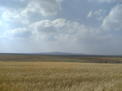 جبل شيحان الكرك كما يظهر من قرية السماكية Mount Shihan as appears from Smakieh