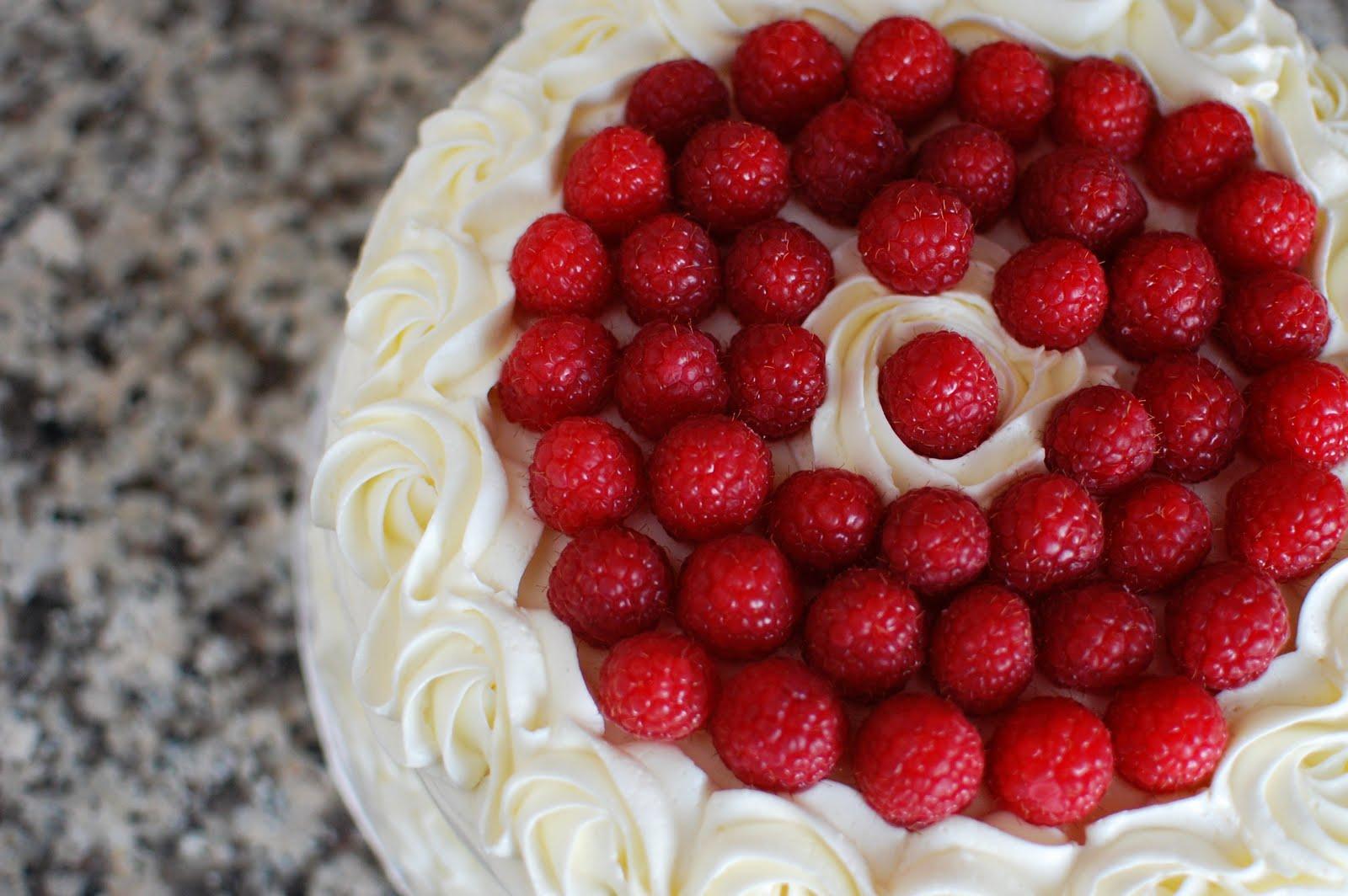 Lemon Raspberry Layer Cake | Beantown Baker