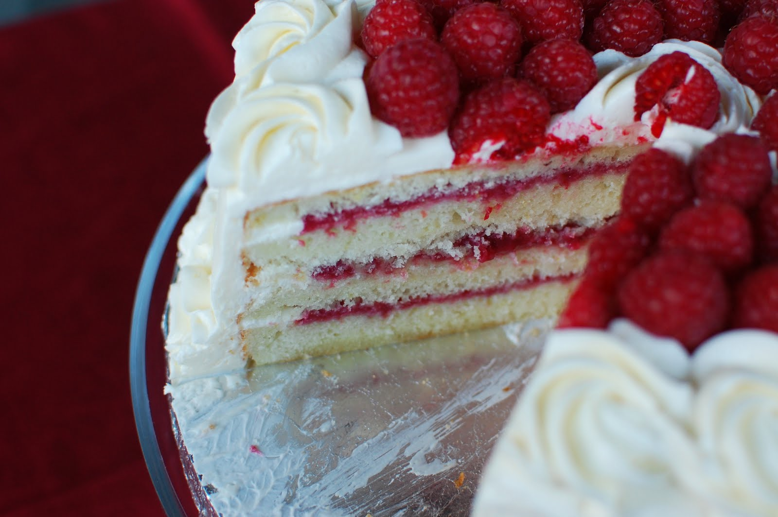 lemon wedding cake with raspberry filling recipe white layer cake with custard filling recipe 16813