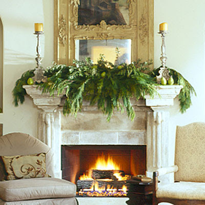 Art house design mantel decorations for the holidays - Modern christmas mantel ideas ...