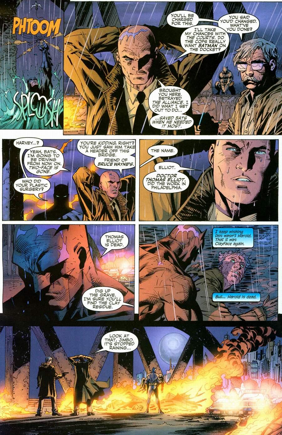 Read online Batman: Hush comic -  Issue #12 - 14