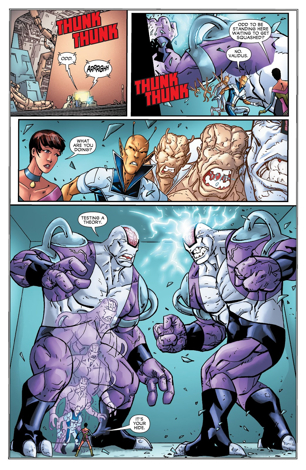 Legion of Super-Heroes (2011) Issue #16 #17 - English 15