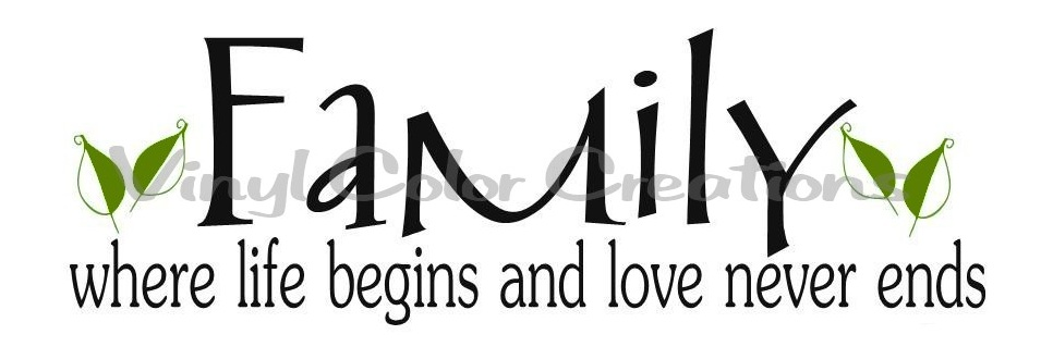 Family Love Quotes And Sayings: VCC And Rhinestone Therapy: Family Quotes