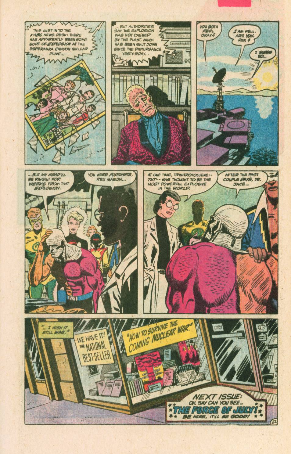 Read online Adventures of the Outsiders comic -  Issue #40 - 23