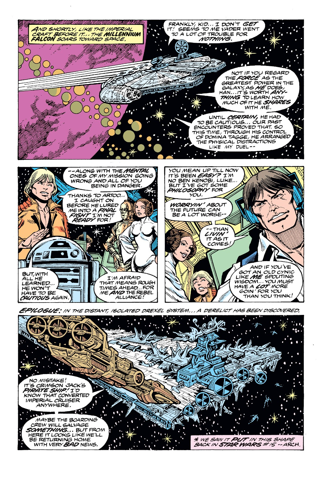 Read online Star Wars Legends: The Original Marvel Years - Epic Collection comic -  Issue # TPB 2 (Part 3) - 92