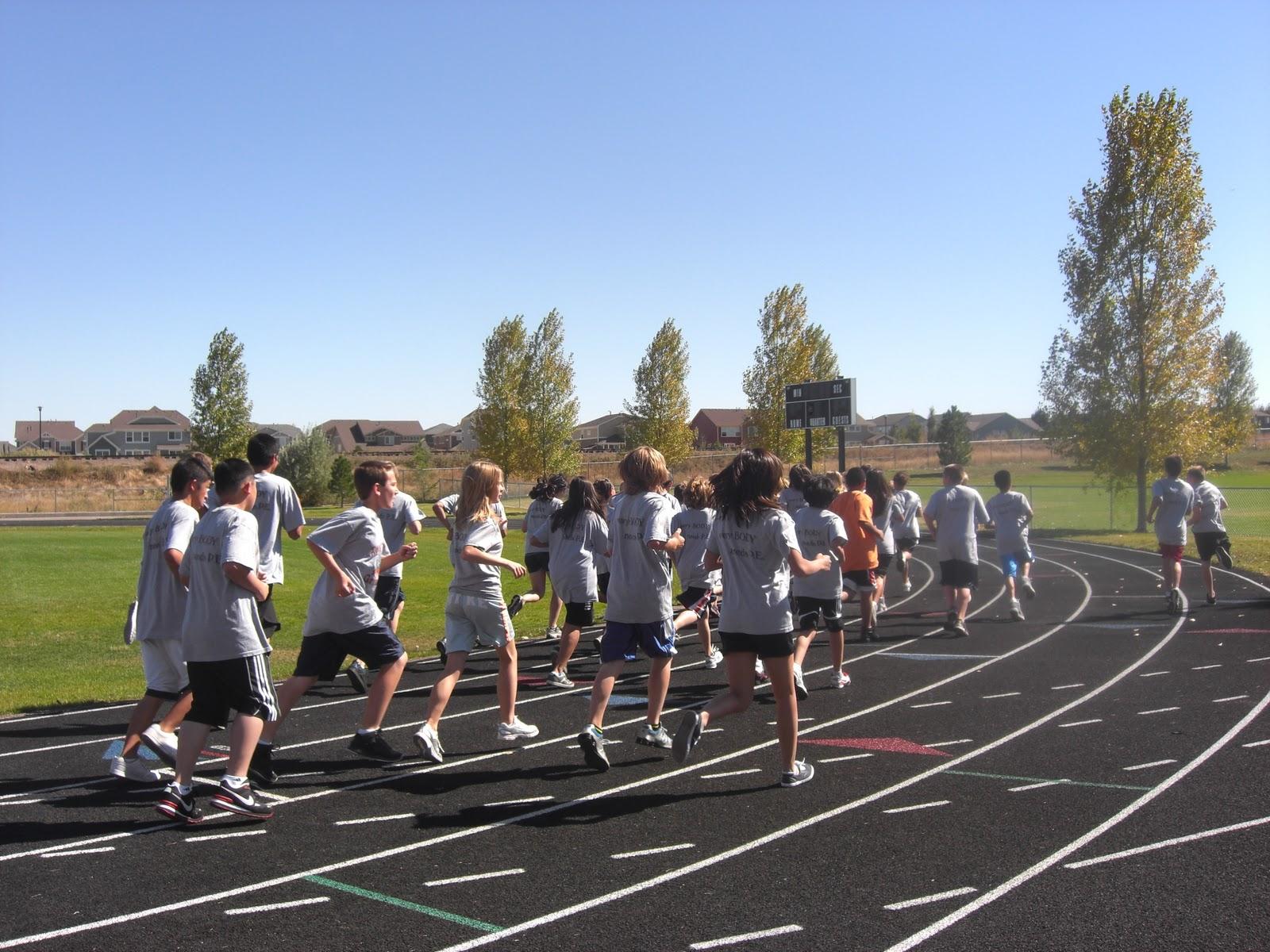 Children Exercising Thornton