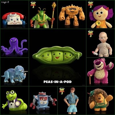 Obviously  my favourite is Peas-In-A-Pod because I m biased to put it    Toy Story 3 Peas In A Pod Names