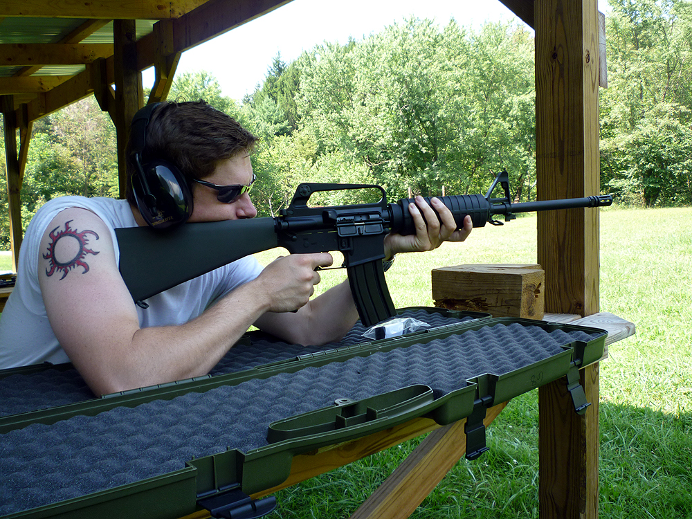Iron, Wood and Stone: GUN REVIEW: OLYMPIC ARMS AR-15 ...