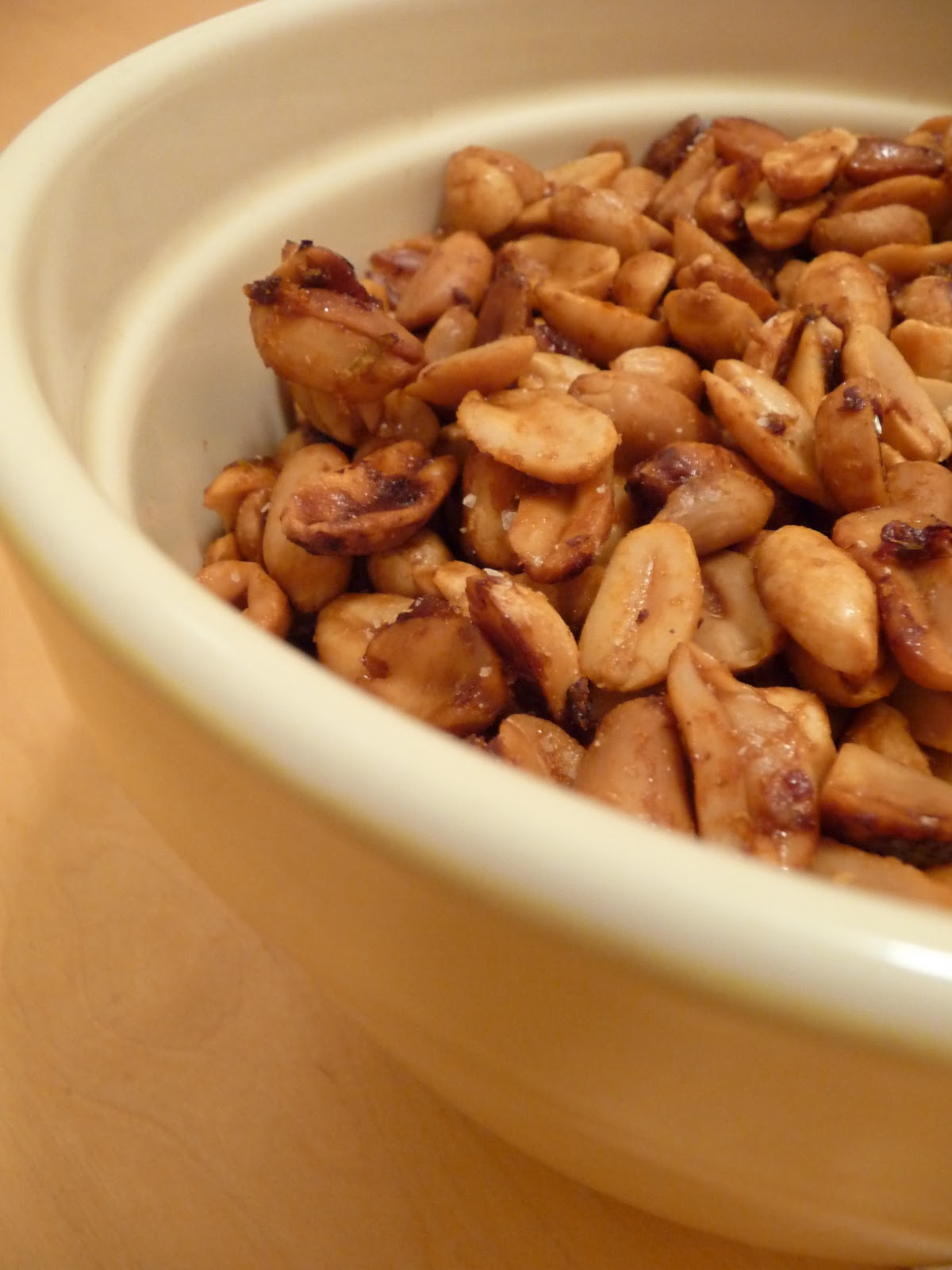 dinner party: chipotle peanuts