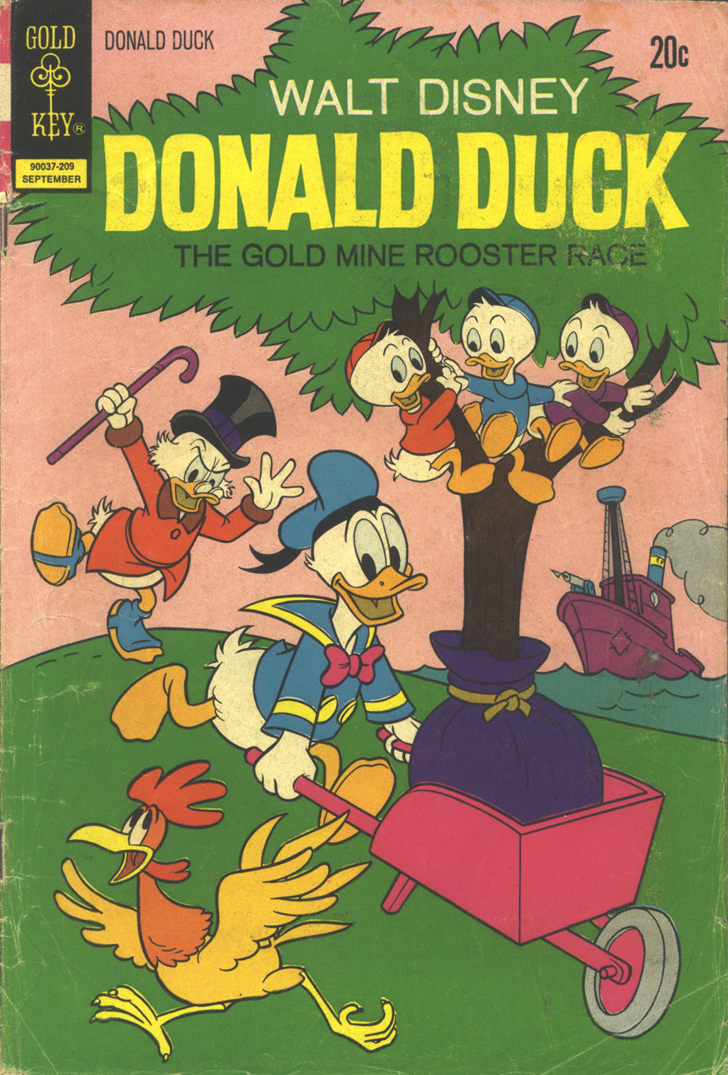 Walt Disney's Donald Duck (1952) issue 145 - Page 1