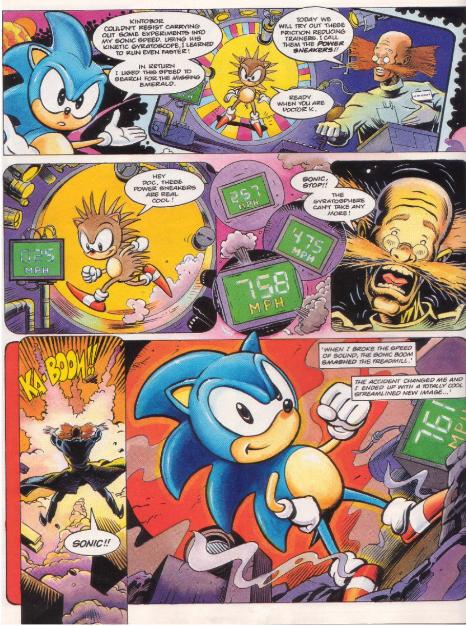 Read online Sonic the Comic comic -  Issue #8 - 6