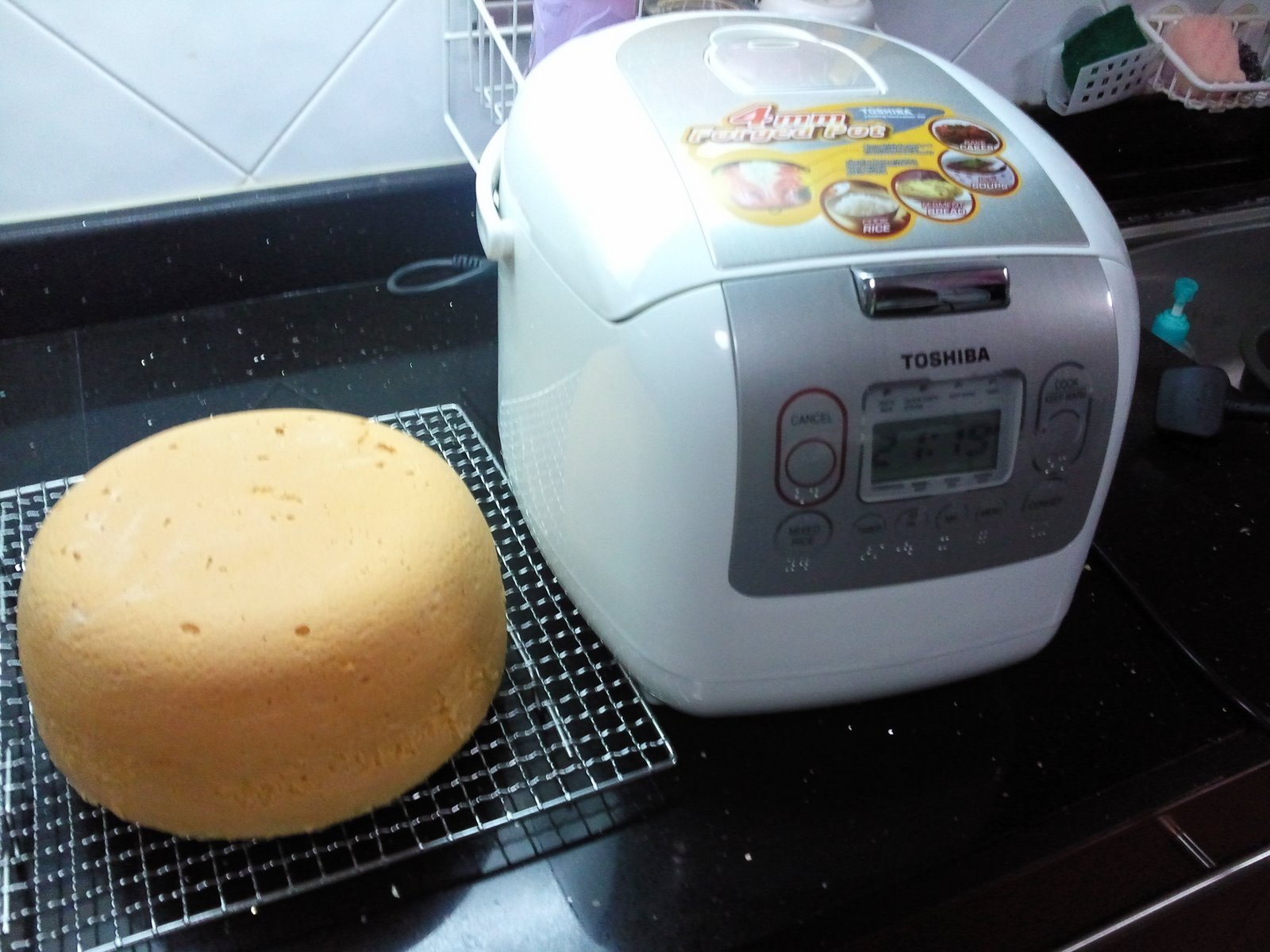 Cake Recipe In A Rice Cooker: Me, MyBakez & MyWhatever......: Rice Cooker Cake