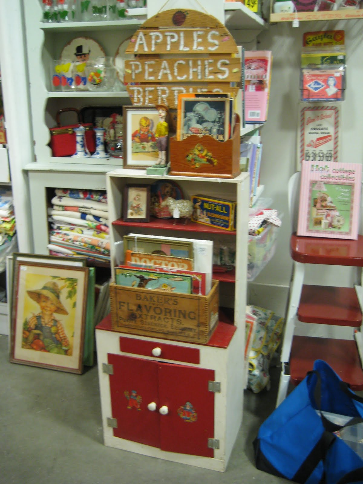 C Dianne Zweig Kitsch N Stuff Antique Mall Booth Display Ideas