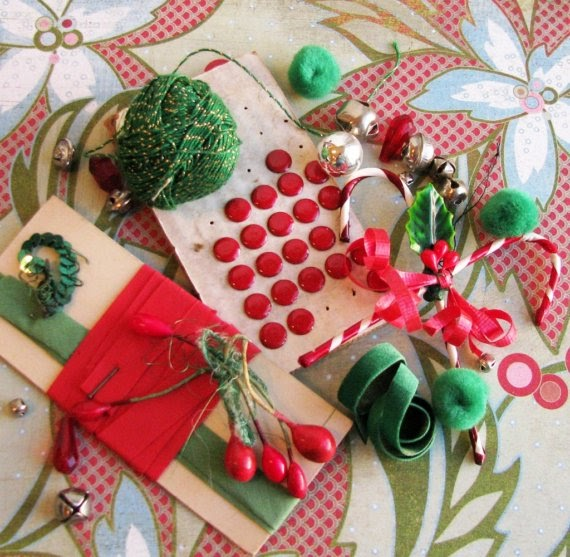 Nostalgic Christmas Decorations: Kitsch 'n Stuff: Making Handmade Vintage