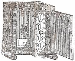 All about Antiques: All about Antique : Antique Bank Safes