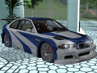 Carros, Rock e Jogos: Download BMW M3 GTR GTA SA