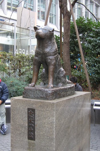 JAPAN_STATION: MUST TO VISIT #9: The Hachiko Statue