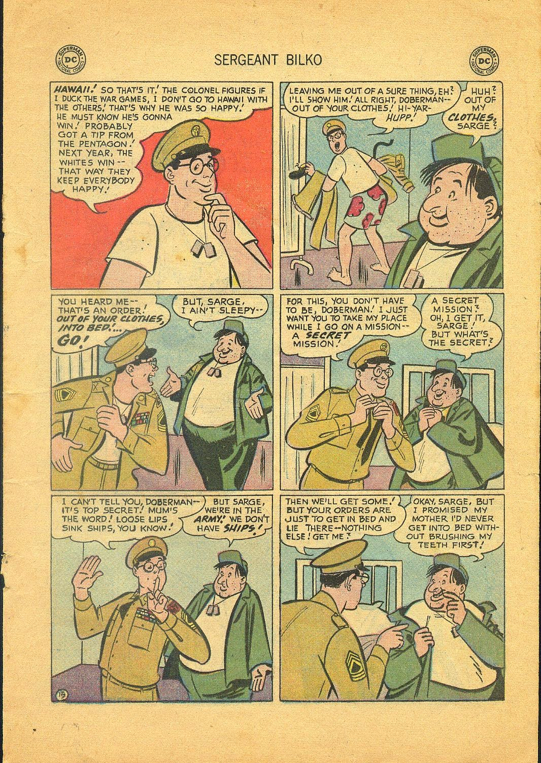 Sergeant Bilko issue 1 - Page 17