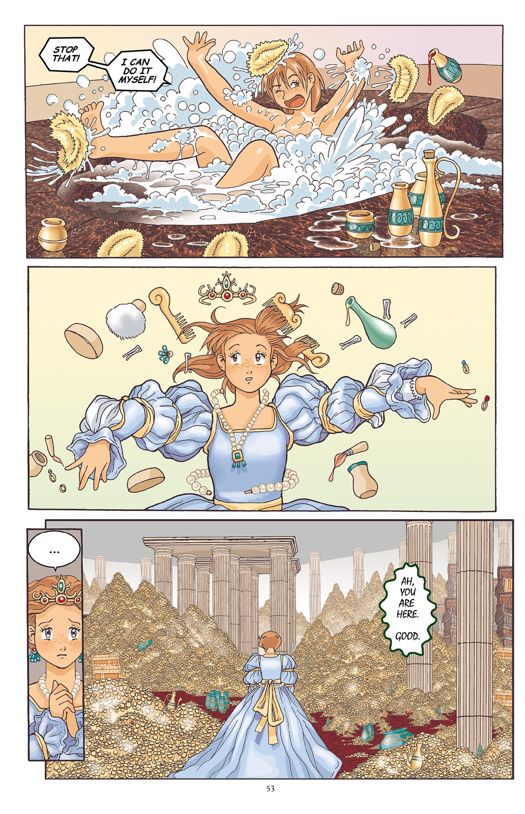 Read online Courageous Princess comic -  Issue # TPB 1 - 54