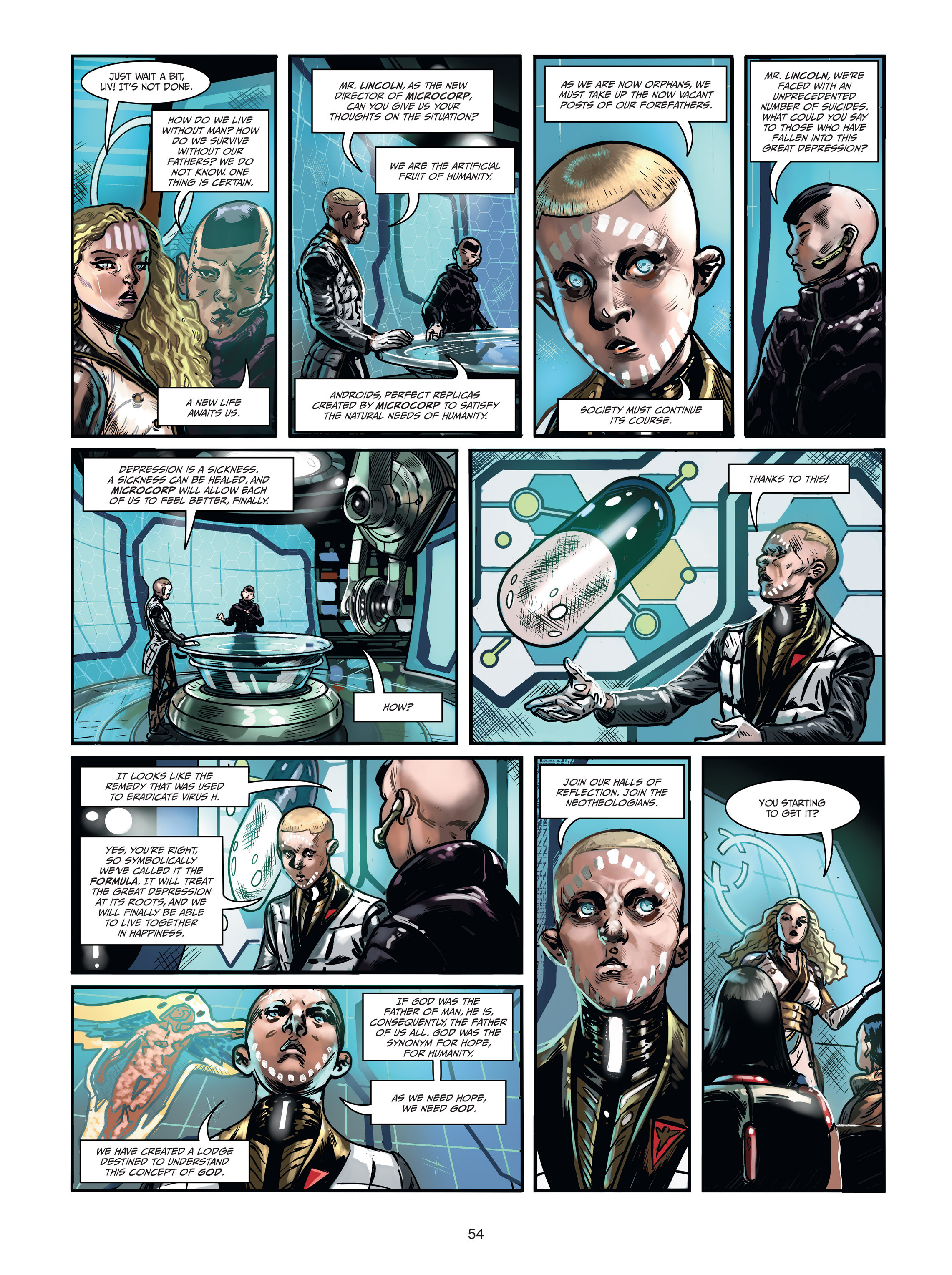 Read online Androïds comic -  Issue #1 - 52