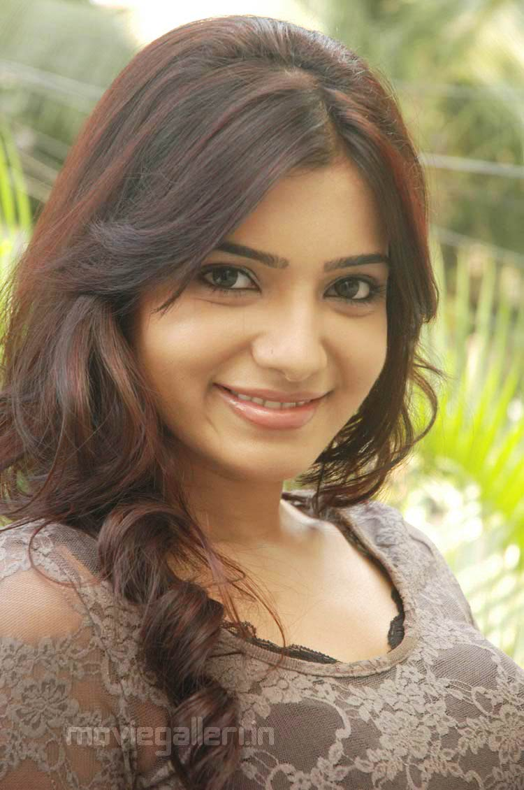 Actress samantha ruth prabhu with