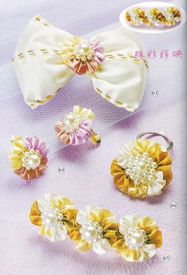 вязание и не только мастер класс цветы для заколок