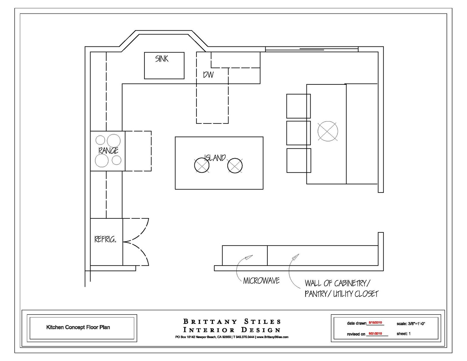 Basic Kitchen Layout Plans