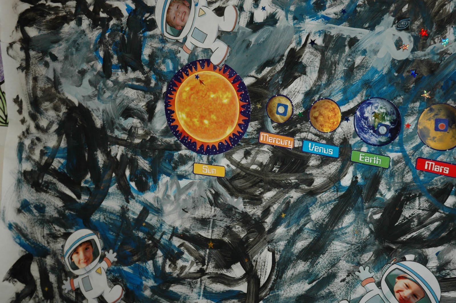 astronaut mural - photo #33