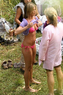 mom bikini candid wife oops