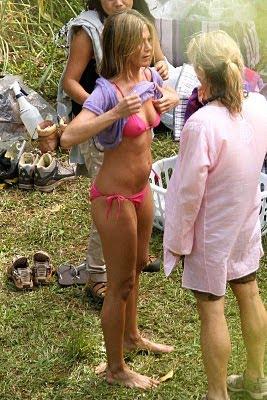 mom bikini candid wife oops