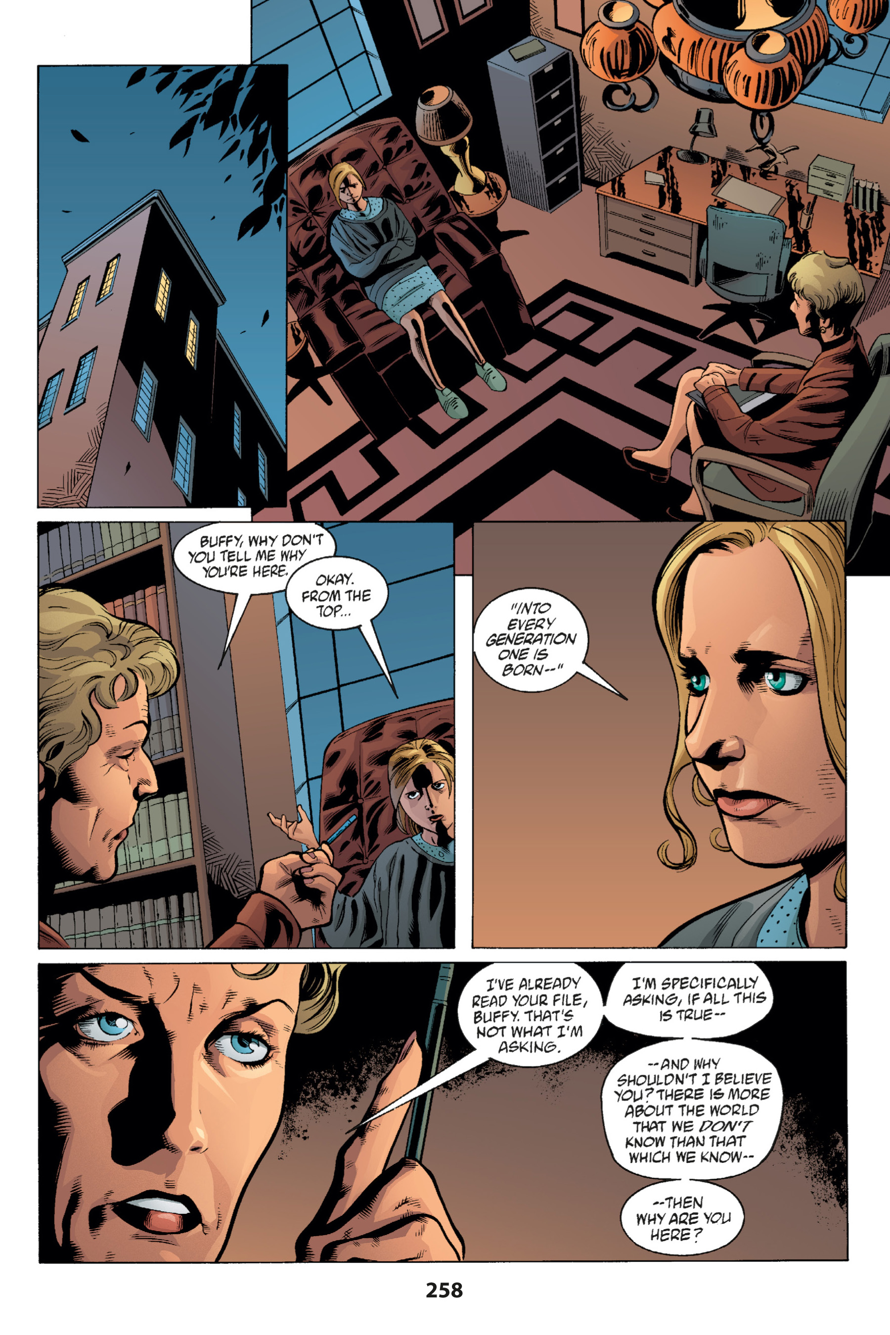 Read online Buffy the Vampire Slayer: Omnibus comic -  Issue # TPB 1 - 251