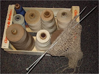 cotton sewing thread cones