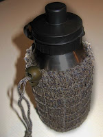 water bottle with cozy